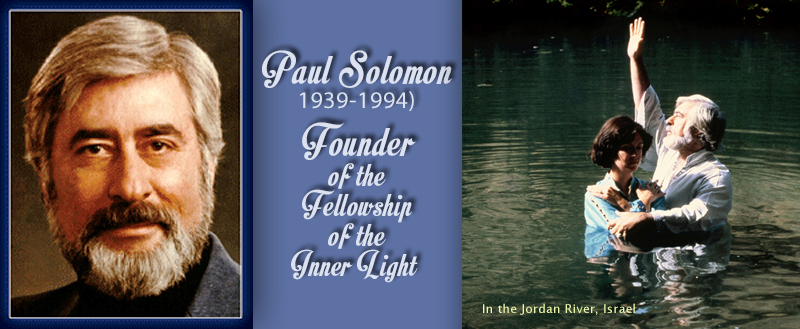 Paul Solomon and baptizing